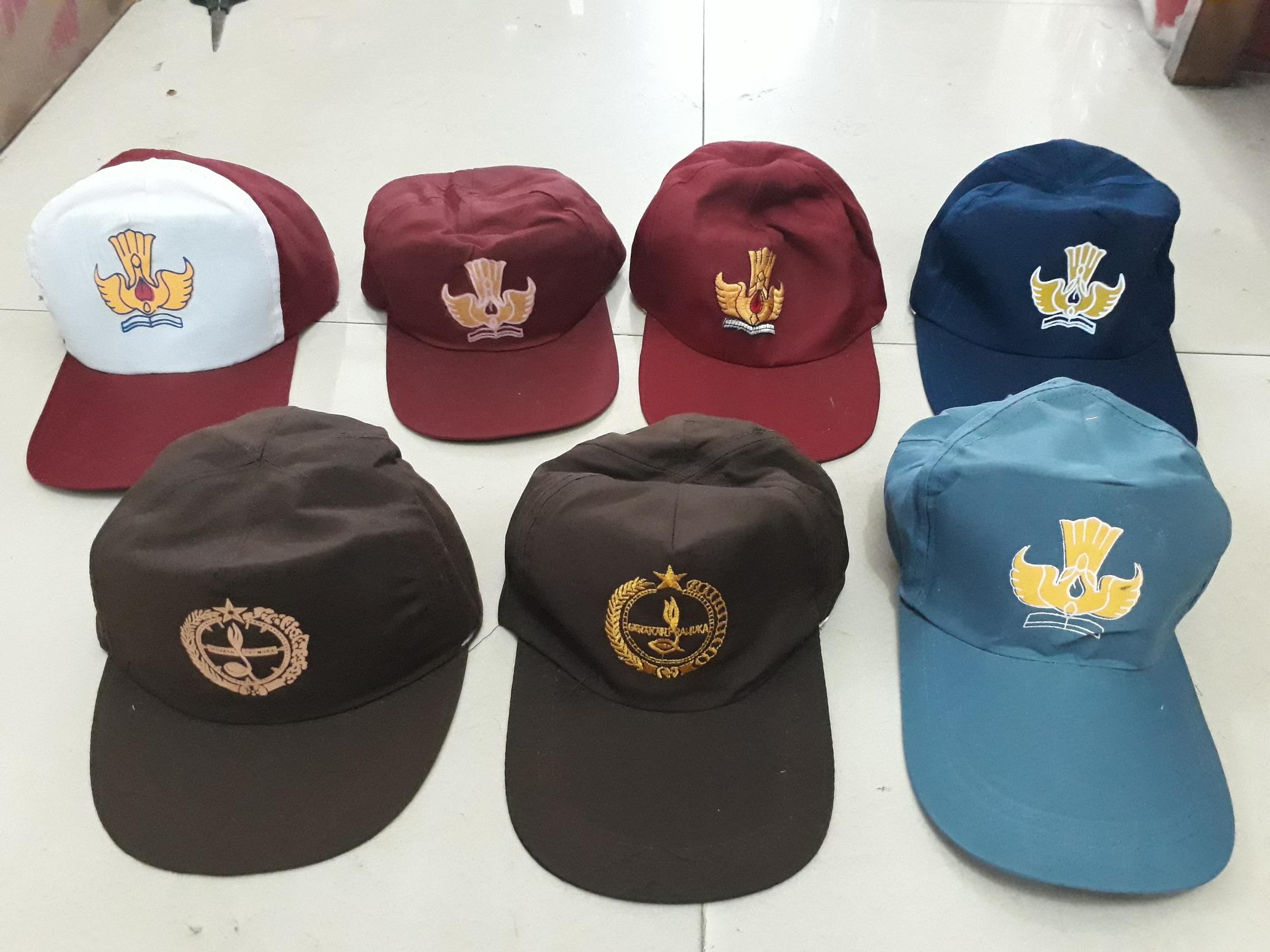 konveksi topi sekolah